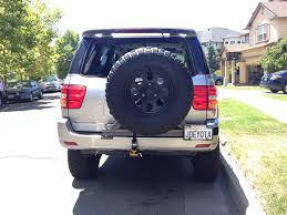 TOYOTA SEQUOIA SWING OUT TIRE CARRIER - Geto Scoot | TOY.ota ...