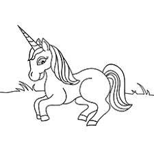 cartazon unicorn pictures to color