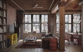 Industrial Interior Design: Den-Loft (The Perfect Man-Cave)