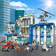 đồ chơi lego xếp hình lắp ráp bela urban 10424 - trụ sở cục cảnh sát chính  hãng 625,000đ