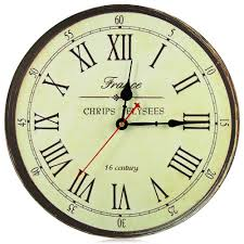 Wall Clock New Horloge Murale European Style Vintage Wallclock
