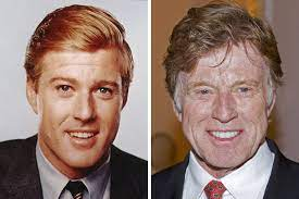 However, due to his charming looks, some netizens start to discuss in internet forums if he underwent the knife to maintain his looks. Robert Redford Then And Now Ridiculously Extraordinary Robert Redford Celebrities Then And Now Sundance Kid