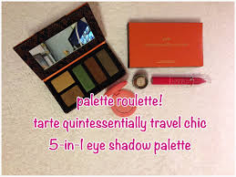 palette roulette tarte quintessential travel chic in eye palette roulette tarte quintessential travel chic 5 in 1 eye shadow palette prettydaysies