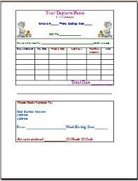 46 Babysitting Invoice Template, Daycare Receipt Template 11 Free ...
