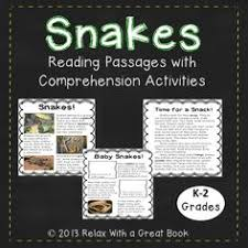 informational reading pages and prehension activities this packet is a great way to incorporate reading