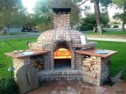 outdoor fireplaces pizza ovens photo gallery kitchen inside