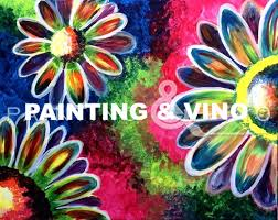 painting vino will host step by step instruction on how to recreate this funky and fun painting psychedelic flowers follow the guide or add your own