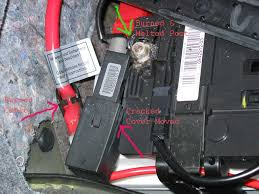 battery safety terminal exploded disconnect the starter cable attached images