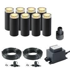 linum led garden light kit