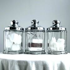 mercury glass canisters perfect for storing precious
