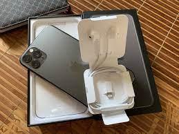 Sạc + Cáp Nhanh 18W+ Tai Nghe Bóc Máy Iphone 11 Pro Max Mới 100% - 450.000đ