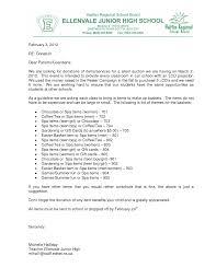 Sample Letter Requesting Donations For School Fundraiser Fresh