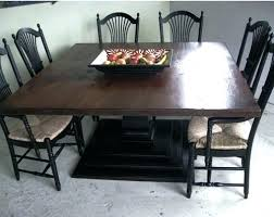 square table inch dining freedom to with regard for 6 decorating 60 inch dining table with