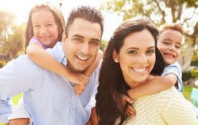 hispanic family activities. Happy Family That Has Received Help From The Hispanic Counseling Center Activities