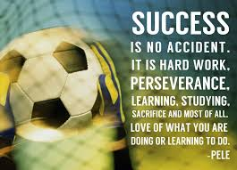 Inspirational Soccer Quotes Enchanting Sports Mania Success Soccer Quote Sports Themed Pinterest