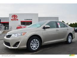 2014 Creme Brulee Metallic Toyota Camry LE #85907440 | GTCarLot ...