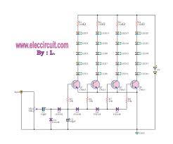 analog vu meter circuit using transistors led vu meter increase