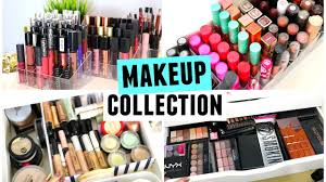 here is my long awaited makeup collection video i am aware that i have a lot of makeup i know some people have more and some have less but i am not trying