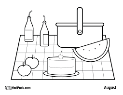 Small Picture basket coloring sheets