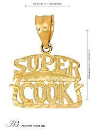 Alishaev Brothers Inc. Jewelry Super Cook Pendant