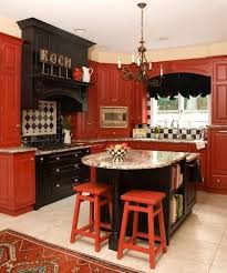 Tips To Decorate Black Red Kitchen