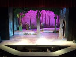 Into The Woods Set Design Broadway Trivia Time Into The Woods Standing Room Only