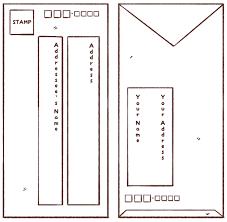 vertical japanese envelope