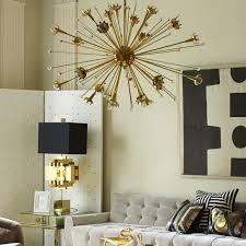 gold sputnik chandelier. Giant Sputnik Chandelier - Alt Image 6 Gold