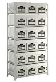 Archive Box Shelving Unit 18 Boxes