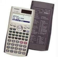 Financial Calculator Casio Fc 200v Financial Calculator For Sale Online Ebay