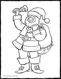 Kerstman Met Bel Kiddicolour