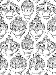 Small Picture Coloring Pages Free Coloring Pages For Christmas Ornaments