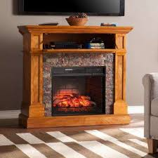 bridgewater 45 5 in w corner infrared electric media fireplace