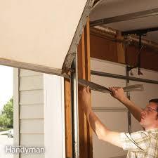 how to replace garage door rollersGarage Door Repair  The Family Handyman