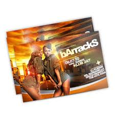 Club Flyers Address Night Club Flyers Fast And Same Day Printing At 24 Hour Print