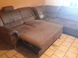 Couch Wohnlandschaft Braun