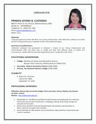 Simple Resume For Job Best Of Examples Of Simple Resumes For Jobs Resume Template Canva Elegant