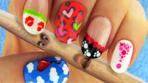 Art Designs 6 Nail Art Designs Nail Tutorial Using Toothpick As A Dotting Tool