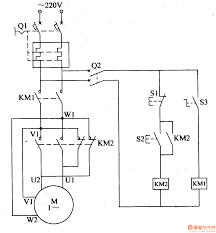wiring diagram single phase forward reverse starter circuit starter relay wiring diagram at 12 Volt Starter Wiring Diagram