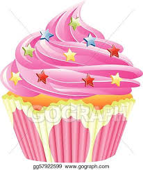 cupcakes with sprinkles clipart.  Clipart Vector Pink Cupcake With Sprinkles Intended Cupcakes With Sprinkles Clipart E