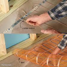 Basement Finishing Tips - Finish basement floor