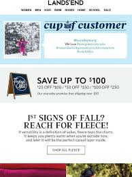 Lands End Email Newsletters Shop Sales Discounts And