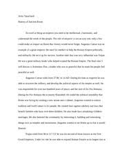 aclc history of ancient rome suny albany page  3 pages ancient rome final paper