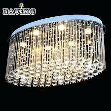 oval crystal chandelier oval crystal chandelier modern chandeliers