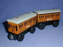 annie clarabel faithful coaches vintage lot thomas wooden railway fast ship mintos web sz