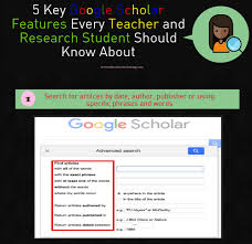 5 Key Google Scholar Features Every Teacher And Research