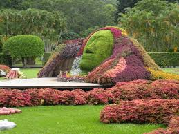 unique flower garden design