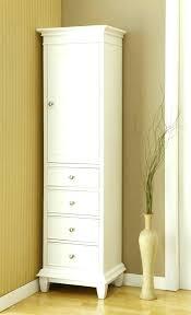 White Freestanding Bathroom Cabinet White Bathroom Storage Drawers