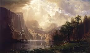 albert bierstadt among the sierra nevada mountains california 1868 smithsonian american art museum washington dc