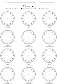 Photo : Time Worksheets O Clock Images. 1000 Ideas About Clock ...